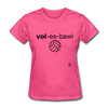 Volleyball T-Shirt - heather pink