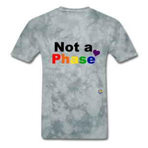 Not a Phase T-Shirt - grey tie dye