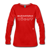 Animal Lover Long Sleeve T-Shirt - red
