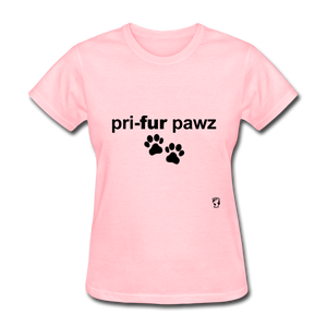 Prefer Paws T-Shirt - pink