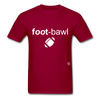 Football T-Shirt - dark red