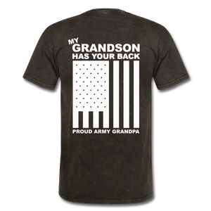 Army Grandpa T-Shirt - mineral black