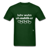 Love One Another T-Shirt - forest green