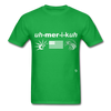 America T-Shirt - bright green