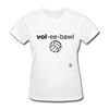 Volleyball T-Shirt - white