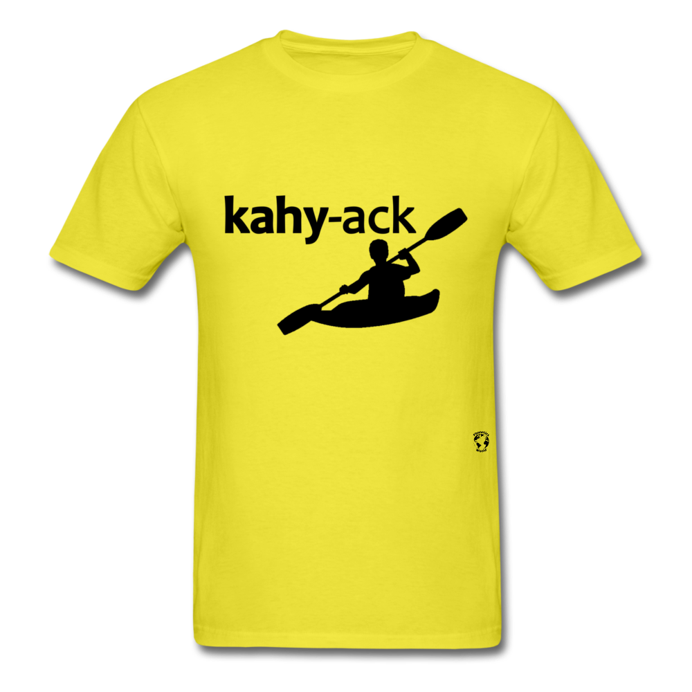 Kayak T-Shirt - yellow