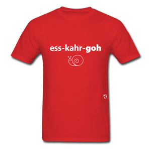 Escargot T-Shirt - red