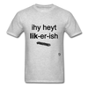 I Hate Licorice T-Shirt - heather gray