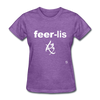 Fearless T-Shirt - purple heather