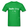 Bowling T-Shirt - bright green