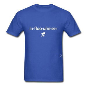 Influencer T-Shirt - royal blue