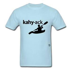 Kayak T-Shirt - powder blue