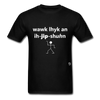 Walk Like an Egyptian T-Shirt - black