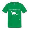 Brontosaurus Toddler Premium T-Shirt - kelly green