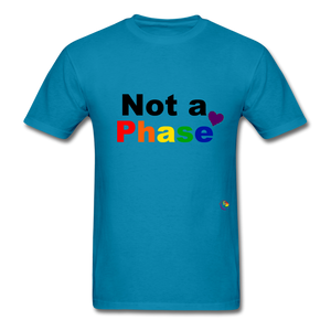 Not a Phase T-Shirt - turquoise