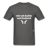 Miracles Welcomed T-Shirt - charcoal