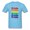 Pride T-Shirt - aquatic blue