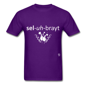 Celebrate T-Shirt - purple