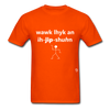 Walk Like an Egyptian T-Shirt - orange
