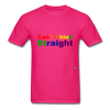 Can't Think Straight T-Shirt - fuchsia
