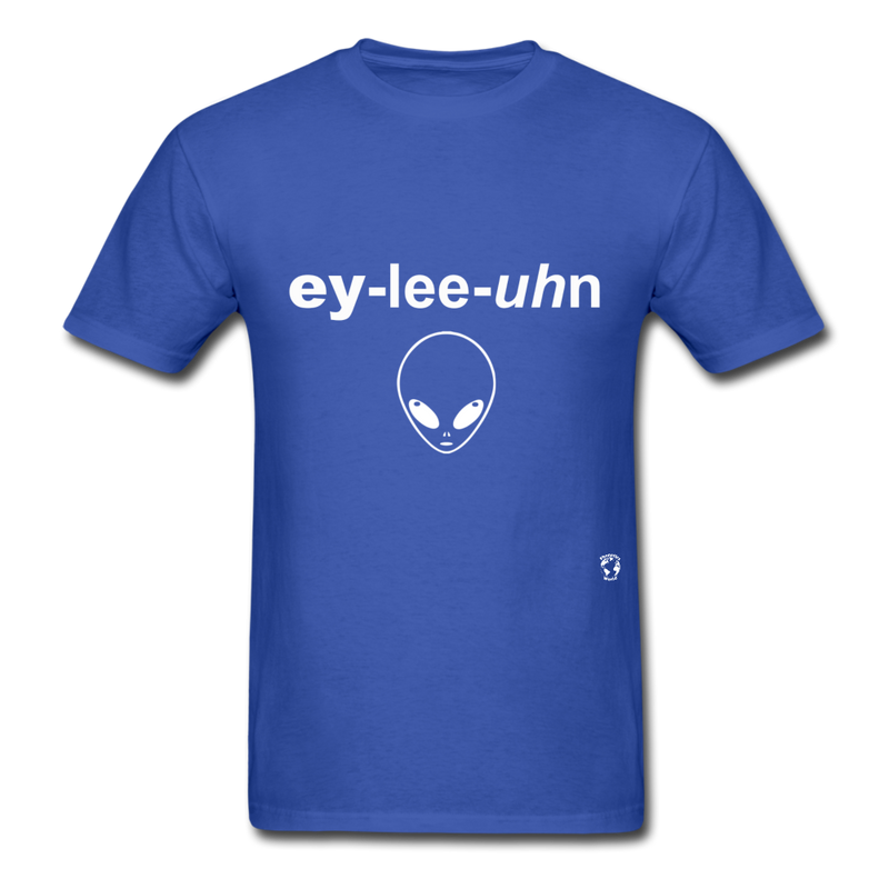 Alien T-Shirt - royal blue