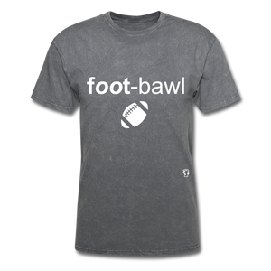Football T-Shirt - mineral charcoal gray