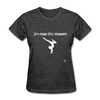 Gymnastic's Mom T-Shirt - heather black