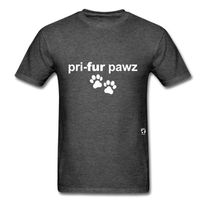 Prefer Paws T-Shirt - heather black