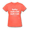 Que Sera Sera T-Shirt - heather coral