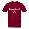 Baseball T-Shirt - burgundy
