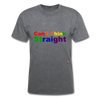 Can't Think Straight T-Shirt - mineral charcoal gray