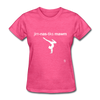 Gymnastic's Mom T-Shirt - heather pink
