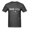 Bowling T-Shirt - heather black