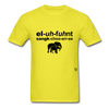 Elephant Sanctuary T-Shirt - yellow