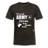Proud Army Mom T-Shirt - mineral black