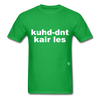 Couldn't Care Less T-Shirt - bright green