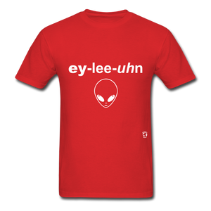 Alien T-Shirt - red