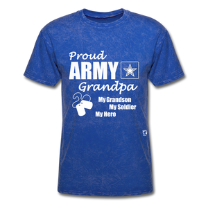 Army Grandpa T-Shirt - mineral royal