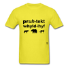 Protect Wildlife T-Shirt - yellow