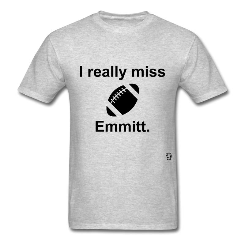 I Really Miss Emmitt T-Shirt - heather gray