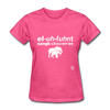 Elephant Sanctuary T-Shirt - heather pink