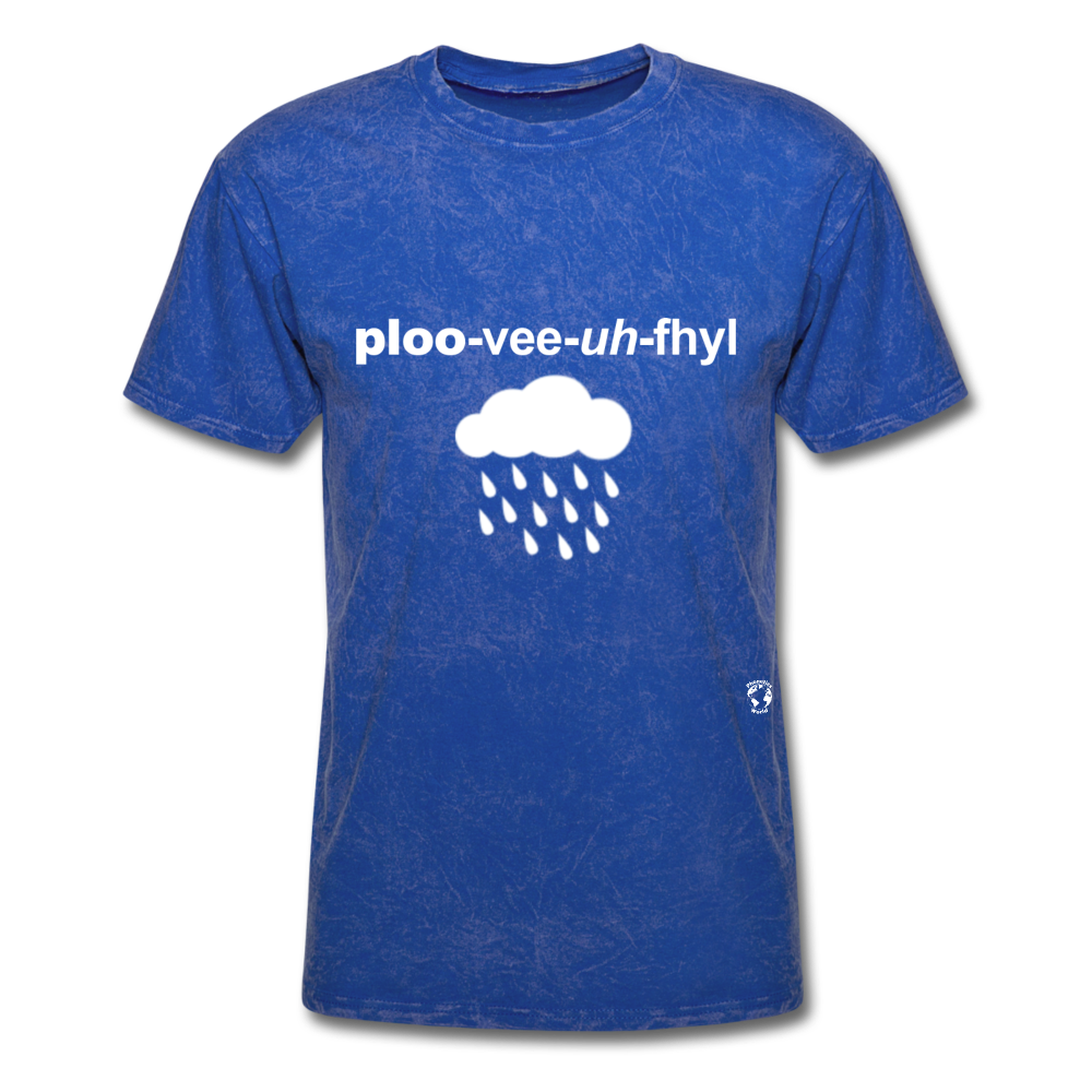 Pluviophile T-Shirt - mineral royal