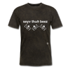 Save the Bees T-Shirt - mineral black