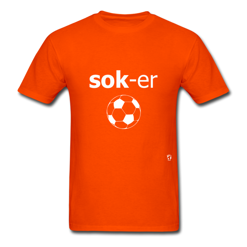 Soccer T-Shirt - orange