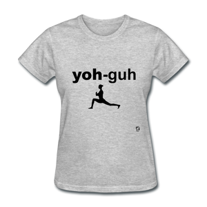 Yoga T-Shirt - heather gray