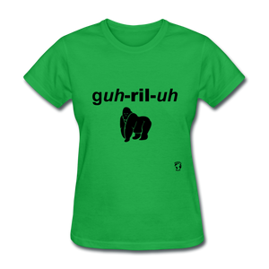Gorilla T-Shirt - bright green