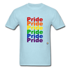 Pride T-Shirt - powder blue