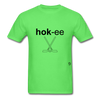 Hockey T-Shirt - kiwi