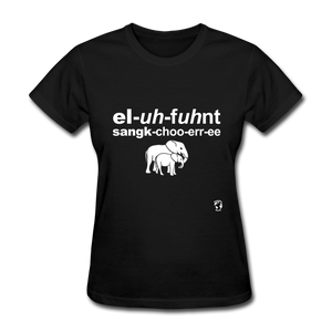 Elephant Sanctuary T-Shirt - black