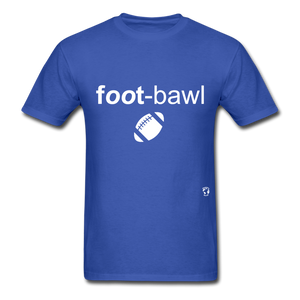 Football T-Shirt - royal blue
